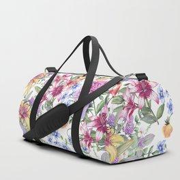 FLORAL WATERCOLOR 10 Duffle Bag