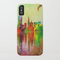san francisco iPhone & iPod Cases featuring san francisco by mark ashkenazi