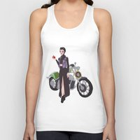 evil queen Tank Tops featuring Evil Queen by Dixie Leota