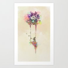 After a Dream Art Print