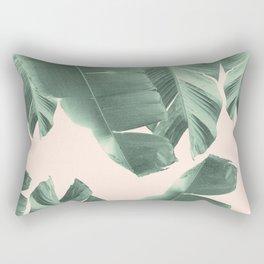 Banana Leaves Tropical Vibes #2 #foliage #decor #art #society6 Rectangular Pillow