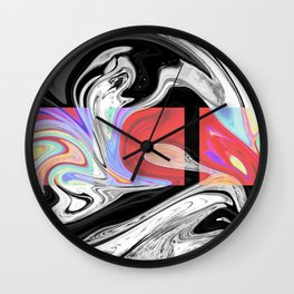 PLIGHT - BLACK Wall Clock