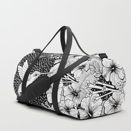 Hummingbird garden Duffle Bag
