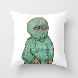 Juan Pepito Throw Pillow