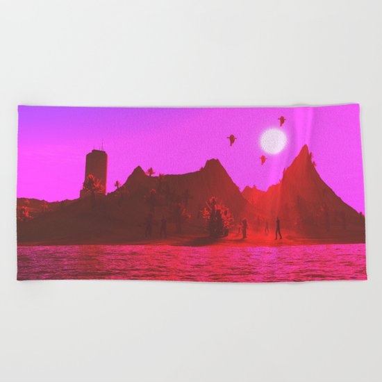 isolation II Beach Towel