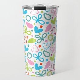 Colorful Lovely Pattern XII Travel Mug