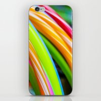 games iPhone & iPod Skins featuring Colorful Games by Nathalie Photos