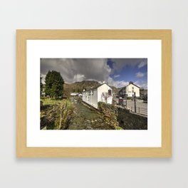 Coniston River  Framed Art Print