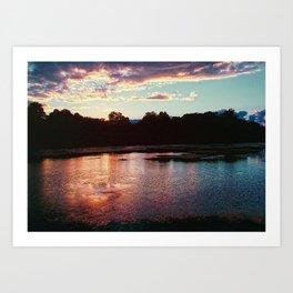 Summer's Farewell [cropped] Art Print