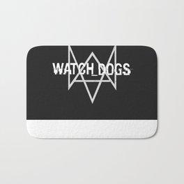Watchdogs logo Bath Mat
