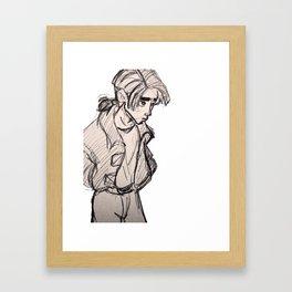 Jim Hawkins Framed Art Print