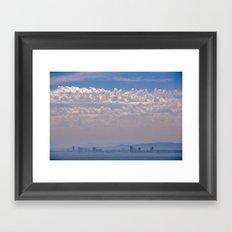 Smoky Sky Framed Art Print