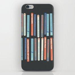 Music Snob iPhone Skin