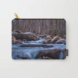 Creek in the Smoky Mountains Carry-All Pouch