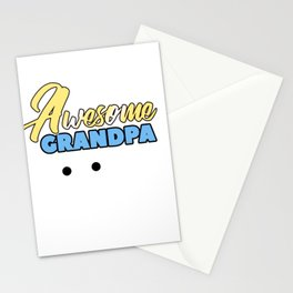Relatives Family Kinship Ancestry Household Love Bloodline Ancestry Awesome Grandpa Gift Stationery Cards