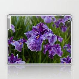 Garden Party (irises) Laptop & iPad Skin