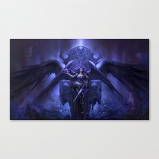 Black Angel Canvas Print