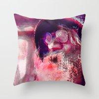 john snow Throw Pillows featuring John by Joe Ganech