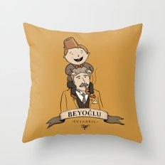 Beyoglu, İstanbul Throw Pillow