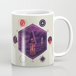 It fell from the stars, It rose from the sea Coffee Mug
