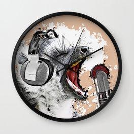 Singing Lemur Wall Clock