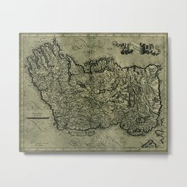 Map Of Ireland 1771 Metal Print