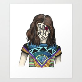 BØRNS Art Print
