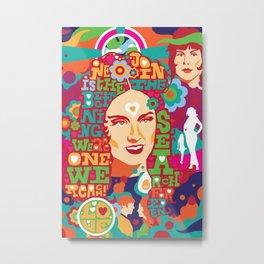 """Star Trek """"The Way to Eden"""" Poster Series :: Beauty Metal Print"""