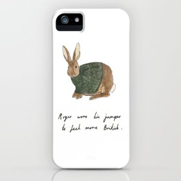 Roger iPhone Case
