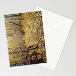 Golden Aspen Mountain Biking Stationery Cards