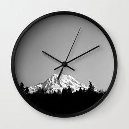 Mt. Rainier Wall Clock