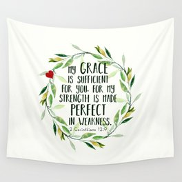 Perfect Grace Wall Tapestry