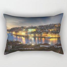 Panoramic Porto Potugal Rectangular Pillow