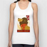 gryffindor Tank Tops featuring Gryffindor Lion by makoshark