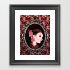 Dame Kardinal fig2 Framed Art Print