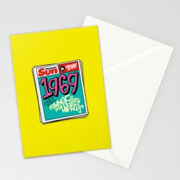 Lousy With Hippies (PAR102) Stationery Cards