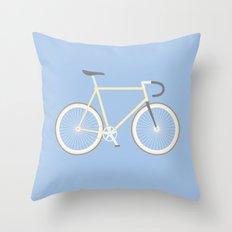 #97 bike Throw Pillow