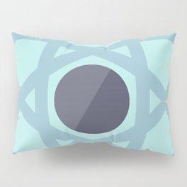 Atom Icon Pillow Sham