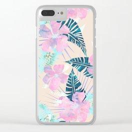 Lani Kai Tropical {F} Clear iPhone Case