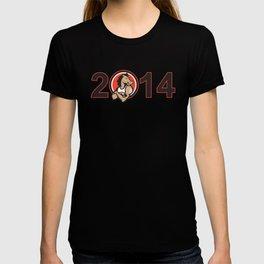 Year of Horse 2014 Mascot T-shirt