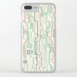 Technicality Clear iPhone Case