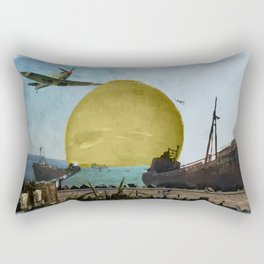 Ship Cemetery  Rectangular Pillow