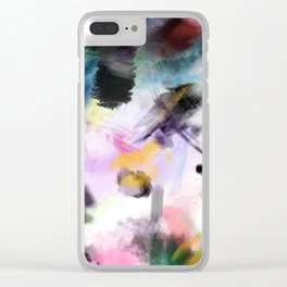 Untitled Recovered Clear iPhone Case