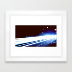 Blinding Speed Framed Art Print