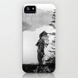 The Chief - Klamath Edward Curtis, 1923 iPhone Case