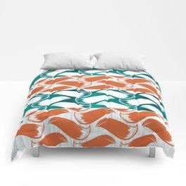 Foxhatched Comforters
