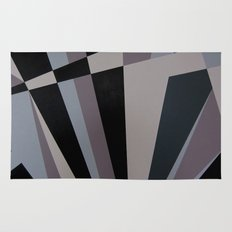 Razzle Dazzle Camouflage Graphic Art Rug
