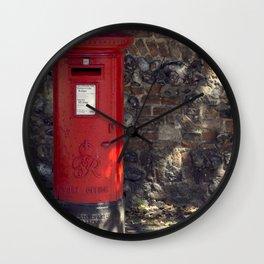 The Post Box Wall Clock