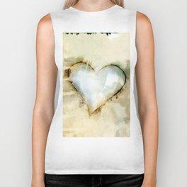 Love Unfolding No.26A by Kathy Morton Stanion Biker Tank
