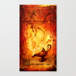 Once Upon A Time Fairy Tale  Canvas Print